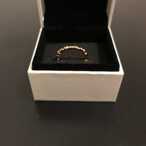 Forever Love Stackable Heart Ring rose gold